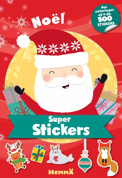 Noël - Bloc de + de 500 stickers et 30 coloriages - dès 5 ans