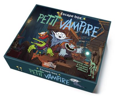 Petit Vampire - Escape box - Escape game enfants - De 2 à 5 joueurs - Dès 8 ans