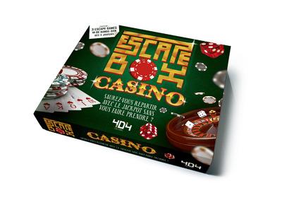 Escape Box Casino - Escape game adulte de 3 à 6 joueurs - Dès 14 ans et adulte