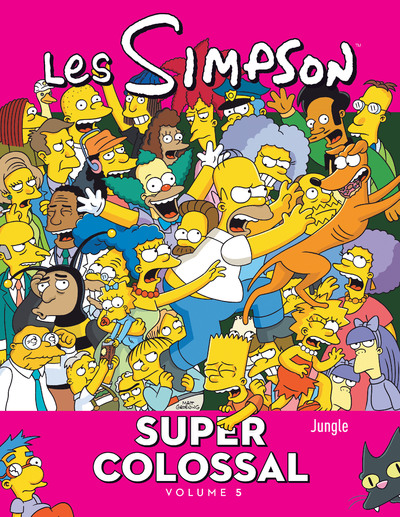 Les Simpson Super colossal - tome 5