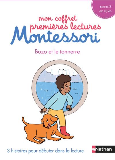 Mon coffret premières lectures Montessori - Bozo et le tonnerre - Niveau 3 - 4/7 ans