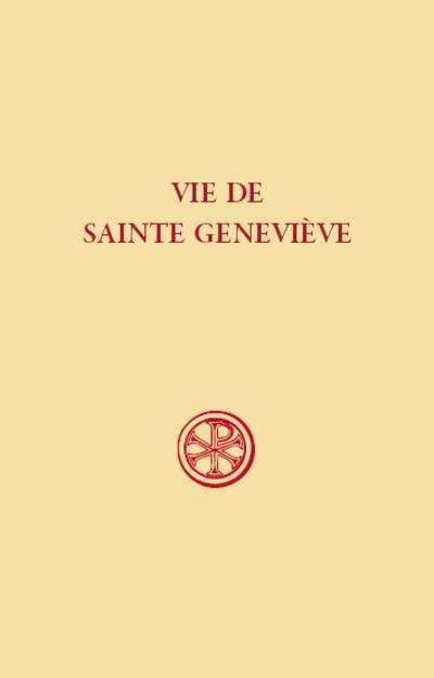 Vie de sainte Geneviève (SC 610)