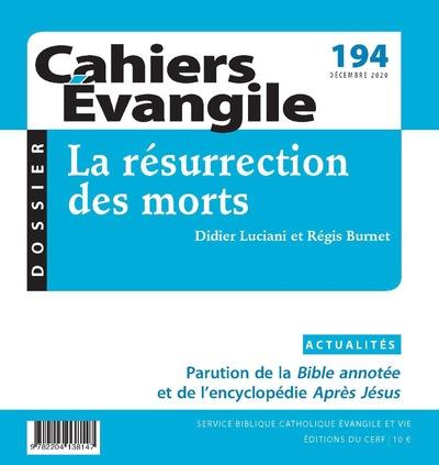 Cahier Evangile 194 - La résurrection des morts
