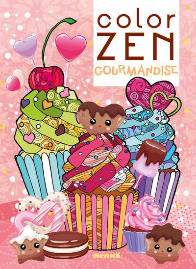 Color Zen - Gourmandise - Livre de coloriage détente - dès 7 ans