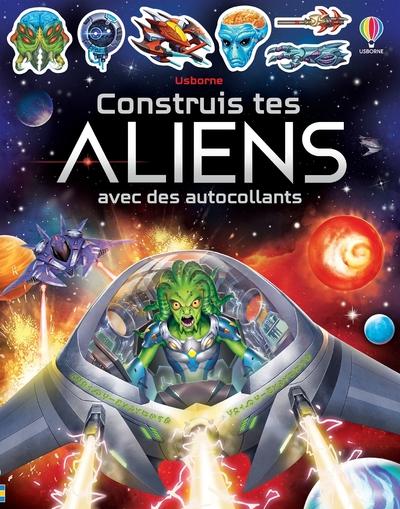 Construis tes aliens avec des autocollants