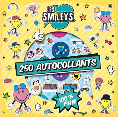 Les Smileys - 250 autocollants - Dès 6 ans