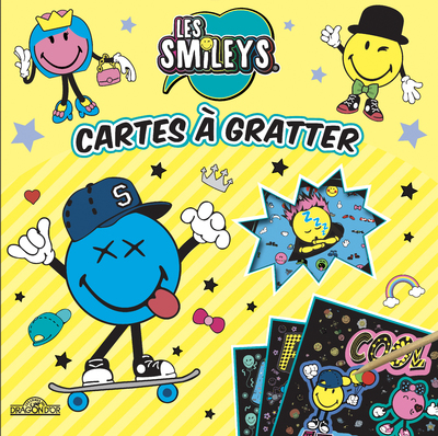 Les Smileys - Cartes à gratter - 100 % fun - Dès 6 ans