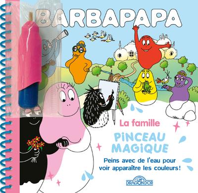 Barbapapa - Pinceau magique - La Famille - Dès 3 ans