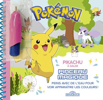 Pokémon - Pinceau magique - Pikachu à Galar - Dès 3 ans