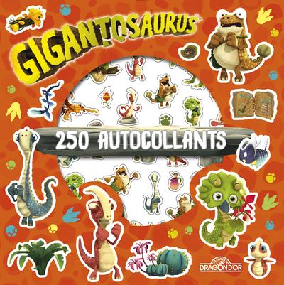 Gigantosaurus - 250 autocollants - Dès 6 ans