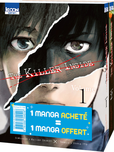 Pack offre découverte The Killer Inside T01 & T02