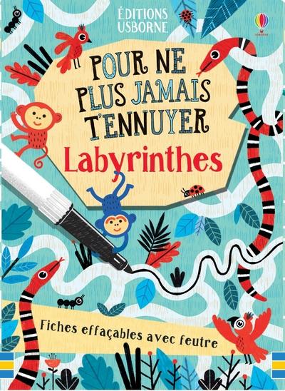 Labyrinthes - Pour ne plus jamais t'ennuyer