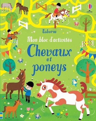 Chevaux et poneys - Mon bloc d'activités