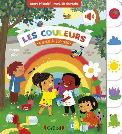 Baby doc : Les couleurs – Documentaire sonore avec 6 puces – À partir de 6 mois