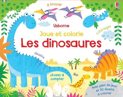 Les dinosaures - Joue et colorie