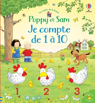 Je compte de 1 à 10 - Poppy et Sam