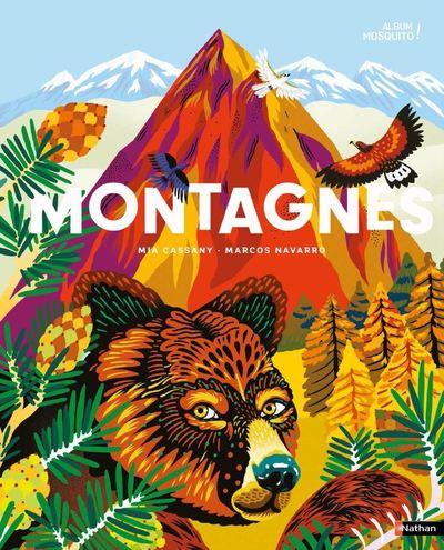 Montagnes - Les trésors de la biodiversité … se cachent en altitude ! - album grand format - Dès 5 ans