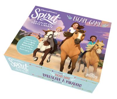 Spirit - Escape box - Embuscade à Miradero - Escape game enfant de 2 à 5 joueurs - Dès 6 ans