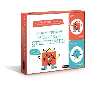 Je joue et j'apprends les bases de la grammaire - livre +  jeu de cartes - Dès 7 ans