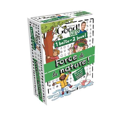 1 boîte 2 jeux – Force de la nature ! – Jeu de cartes avec Michel Cymes – À partir de 6 ans