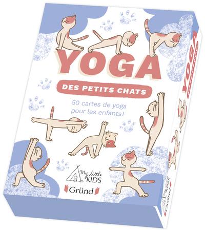 Le Yoga des petits chats – Boîte de jeu de cartes – À partir de 3 ans