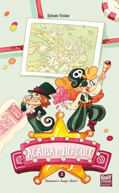 Agatha et Hercule - tome 3 Bienvenue à Burger Land !