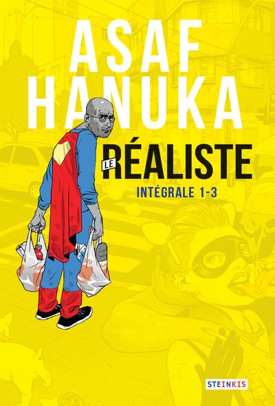 Asaf Hanuka - Le Réaliste Intégrale (numéros 1-2-3)