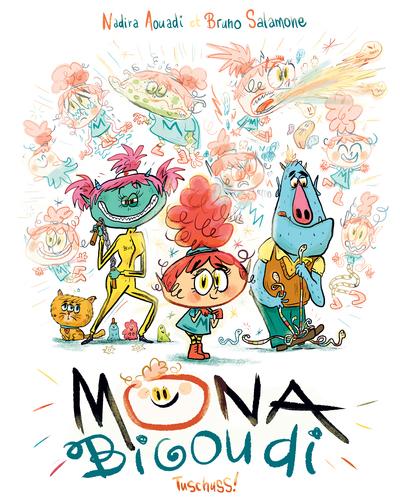Mona Bigoudi - Lecture BD jeunesse humour - émotions - Dès 7 ans