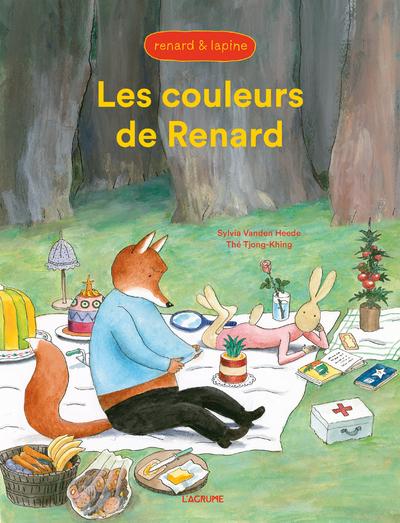 Les couleurs de Renard - Renard et Lapine - Album - Dès 3 ans