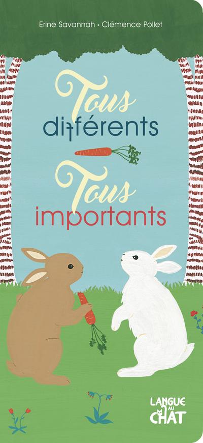 Tous différents, tous importants - Album histoire tout-carton - Dès 18 mois