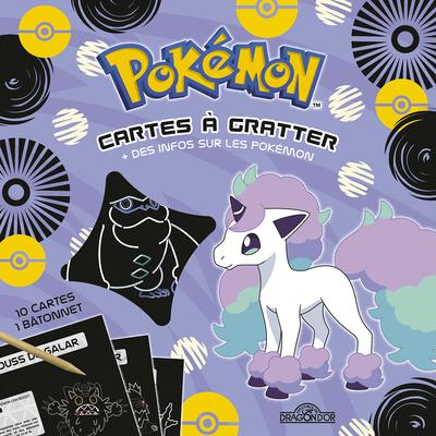Pokémon – Cartes à gratter – 100 % Galar – Pochette de 10 cartes à gratter – Dès 6 ans