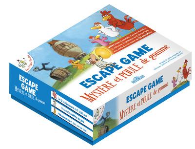 Les P'tites Poules – Escape box – Escape game enfants – De 2 à 5 joueurs – Dès 7 ans