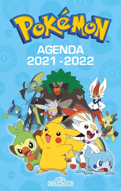 Pokémon – Agenda 2021-2022 – Avec des informations sur les Pokémon et des scènes de cherche-et-trouve – Dès 7 ans