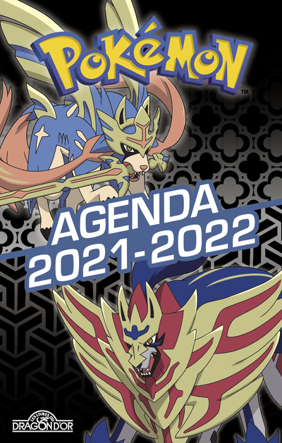 Pokémon – Agenda 2021-2022 – Zacian et Zamazenta – Avec des activités, des informations sur les Pokémon et des scènes de cherche-et-trouve - Dès 7 ans