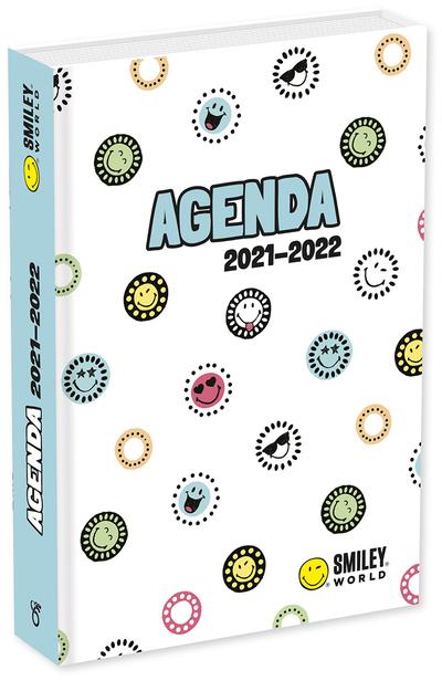 Smiley – Agenda émoticônes 2021-2022 – Avec des devinettes – Dès 7 ans