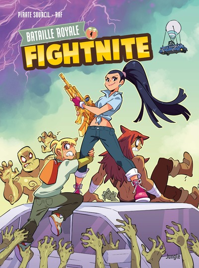 Fightnite Bataille royale - tome 4 Les mutants