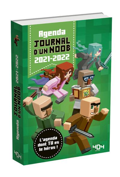 Agenda dont tu es le héros - Journal d'un Noob - 2021-2022 - Minecraft - Agenda scolaire avec énigmes - dès 7 ans